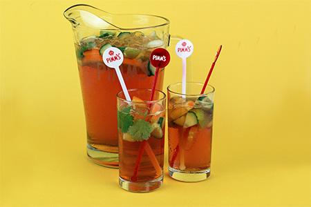 Or toast the summer sun with a Pimms