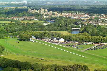 at Windsor Racecourse . . .