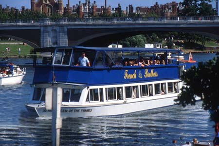 French Brothers Boats Chertsey to Hampton Court Service Image 2