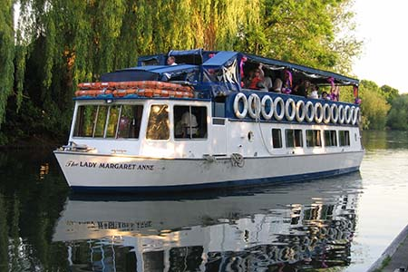 French Brothers Boats Runnymede 2 hour tea cruise Image 2