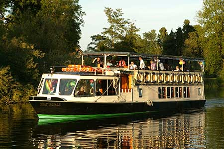 French Brothers Boats Runnymede 2 hour tea cruise Image 3