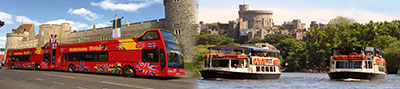 City Sightseeing tour of Windsor & Eton